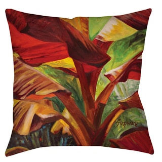 Banana Duo 19-inch Indoor/ Outdoor Throw Pillow