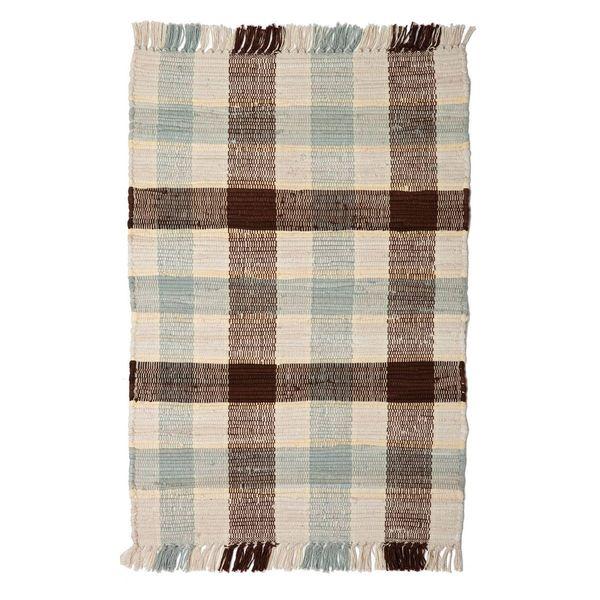 Newport Woven Cotton Rag Rug (2'6 x 6')