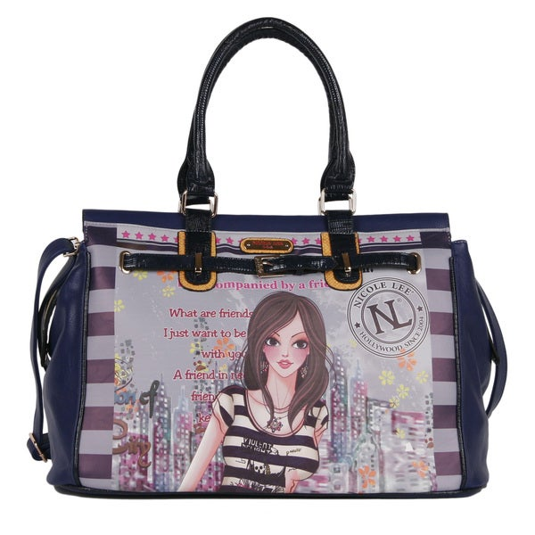 Nicole Lee Special Dolly Print Edition Duffle Bag