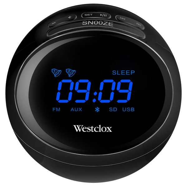 "Stero BT 0.7"" LED Clock Radio"