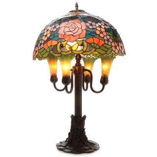 Warehouse of Tiffany Clizia Grandeur 6-light Table Lamp