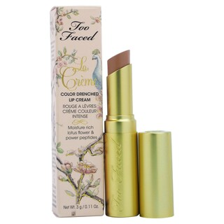 Too Faced La Creme Color Drenched Lip Cream Nude Beach