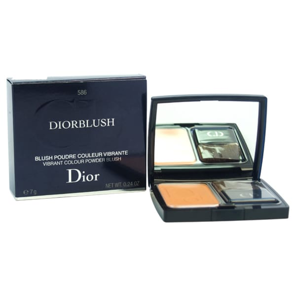 Diorblush Vibrant Colour Powder Blush # 586 Orange Riviera
