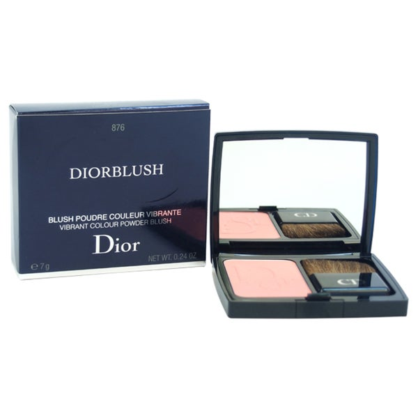Diorblush Vibrant Colour Powder Blush # 876 Happy Cherry