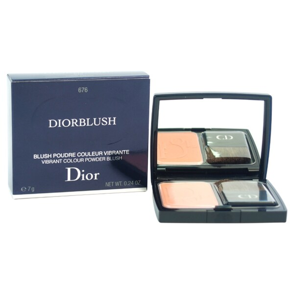 Diorblush Vibrant Colour Powder Blush # 676 Coral Cruise
