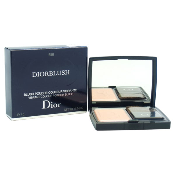 Diorblush Vibrant Colour Powder Blush # 656 Coral Croisette