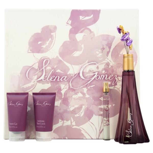 Selena Gomez Women's 4-piece Gift Set