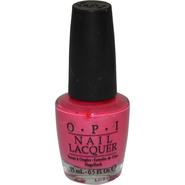 OPI La Paz-itively Hot Nail Lacquer
