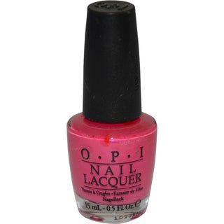 OPI La Paz-itively Hot Nail Lacquer