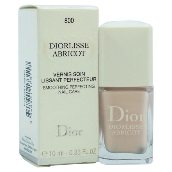 Dior Diorlisse Abricot Smoothing Perfecting # 800 Snow Pink Nail Polish