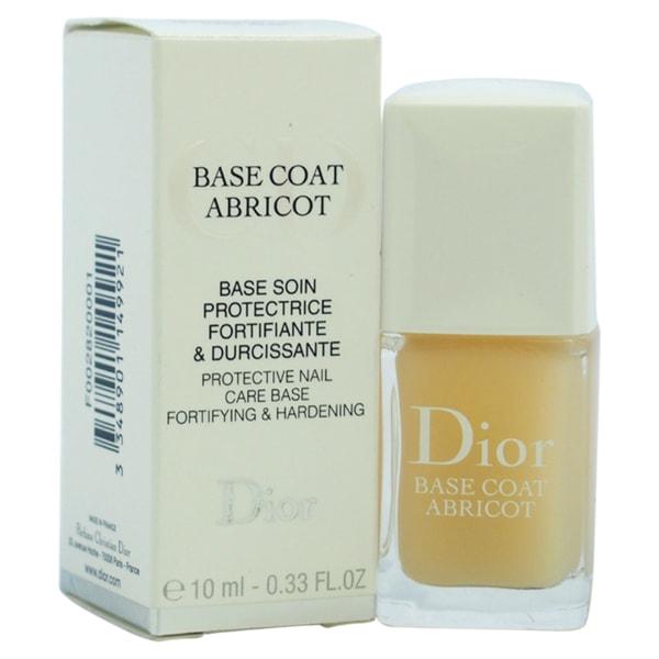 Dior Base Coat Abricot Protective Base Fortifying & Hardening Nail Polish