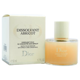 Dior Dissolvant Abricot 1.7-ounce Gentle Polish Remover With Abricot Care Concentrate