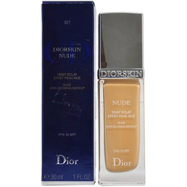 Diorskin Nude Skin-Glowing Makeup SPF 15 # 021 Linen Concealer