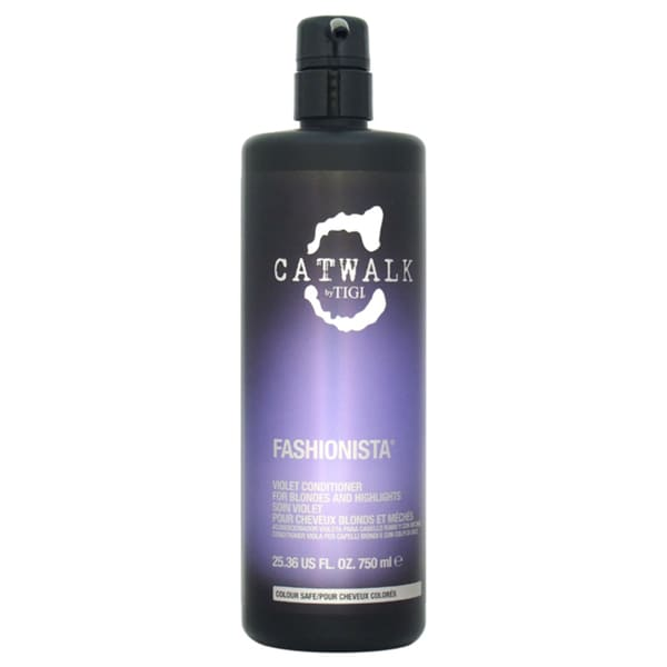 TIGI Catwalk Fashionista Violet 25.36-ounce Conditioner