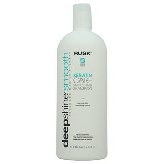 Rusk Deepshine Smooth Keratin Care Smoothing 33.8-ounce Shampoo