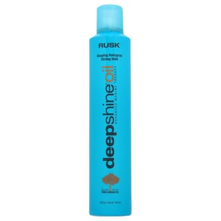 Rusk Deep Shine Oil Shaping Strong Hold 10.6-ounce Hair Spray