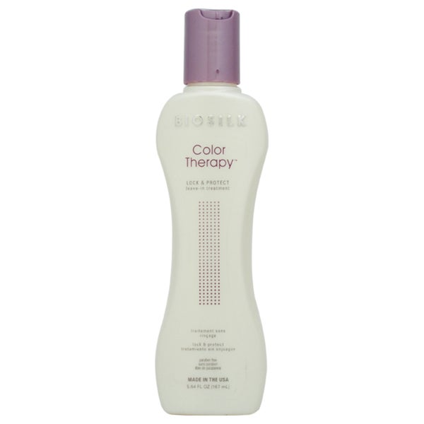 Biosilk Color Therapy Lock & Protect 5.64-ounce Leave-In Treatment
