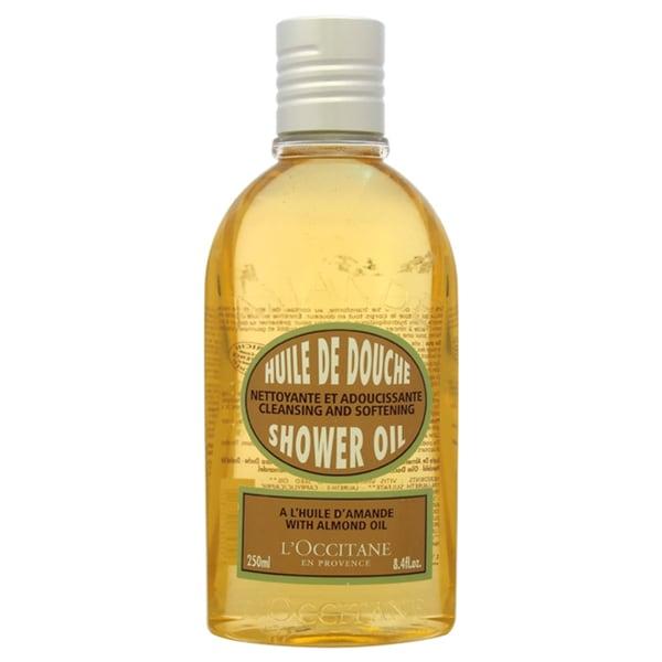 L'occitane Almond Cleansing & Softening 8.4-ounce Shower Oil