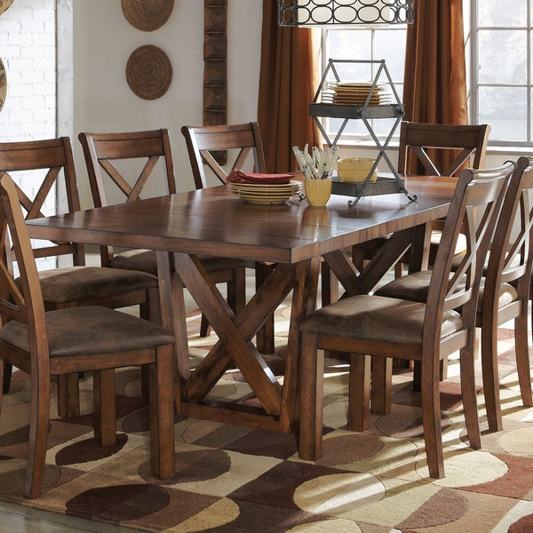 signature design by ashley waurika dining room table