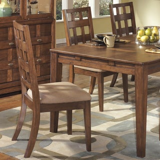 Signature Design by Ashley 'Clifton Park' Medium Black Walnut Stain Dining Chair (Set of 2)
