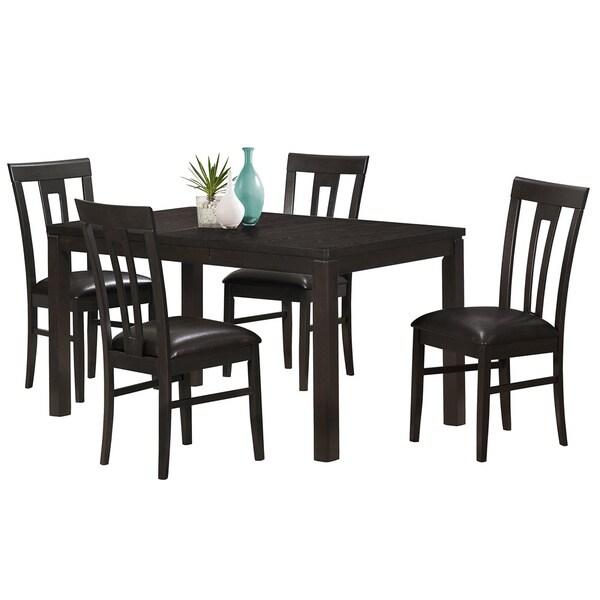 Rectangular Cappuccino Dining Table