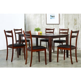 Warehouse of Tiffany 7-piece Brown Callan Dining Set