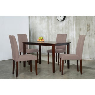 Warehouse of Tiffany Shino Brown 5-piece Dining Set