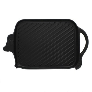 Chasseur Cow-shaped Black Cast Iron Grill