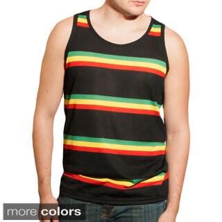 Men's Rasta Stripe Muscle Top (India)