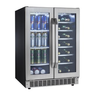 Silhouette Select French-door Stainless Steel Beverage Center