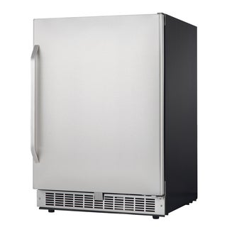 Silhouette Select Compact Stainless Steel Refrigerator