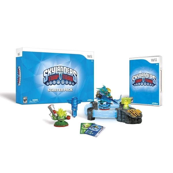 Wii - Skylanders Trap Team Starter Pack 12949562