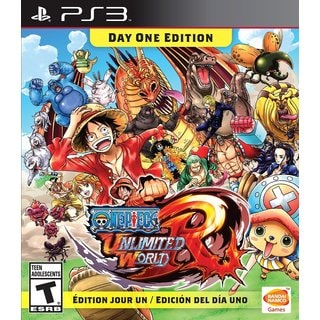 PS3 - One Piece: Unlimited World Red