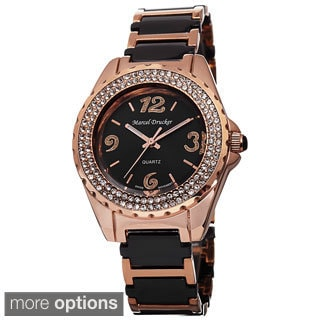 Marcel Drucker Women's Ceramic Bracelet Watch
