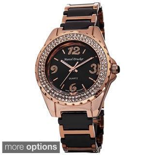 Marcel Drucker Women's Ceramic Bracelet Watch