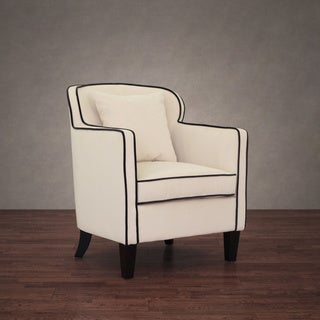 Broadway Cream Velvet Arm Chair