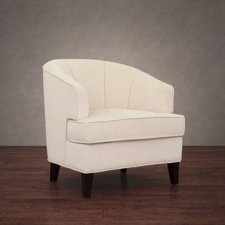 Tripoli Cream Velvet Arm Chair