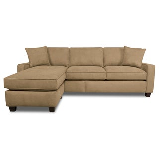 Faith Brownstone Sofa / Chaise Sectional