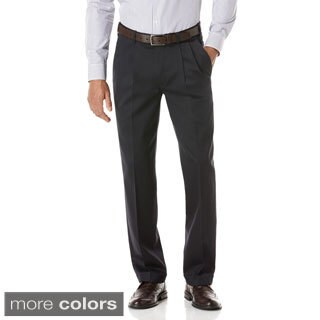 Perry Ellis Men's 'Portfolio' Modern Fit Twill Pleated Pant