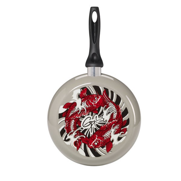 Guy Fieri Koi Fish Design 10-inch Frying Pan