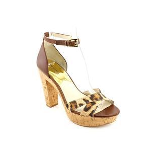 Michael Kors Women's 'Camilla Platform' Leather Sandals
