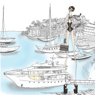 Marmont Hill Art Collective 'Miss Monaco' Canvas Art
