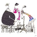 Marmont Hill Art Collective 'Paris in Threes' Canvas Art
