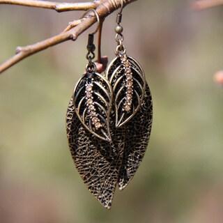 'Modern Nature' Ear Candy Dangle Earrings