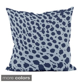 18 x 18-inch Spotted Animal-print Decorative Throw Pillow