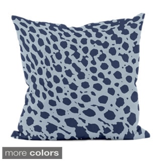 16 x 16-inch Spotted Animal-print Decorative Throw Pillow