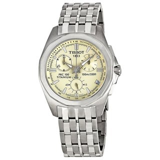 Tissot Men's T-Sport Off-white Chronograph Watch