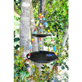 Handmade Birdfeeder Wind Chime (India)