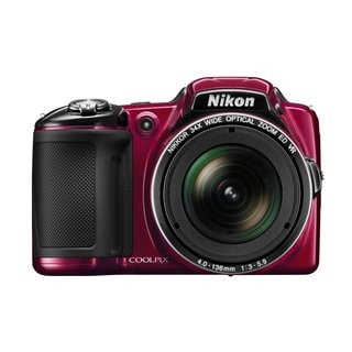 Nikon L830 16MP Red Digital Camera
