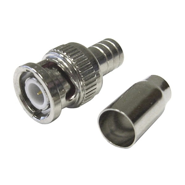 Offex BNC RG59 Male Crimp-On Connector